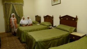 kamar kami berempat di Al Fayrooz
